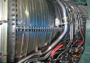 F-2エンジン側面